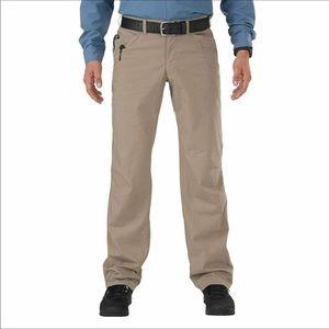 5.11 Tactical Men's Ridgeline Covert Pants Tan 36